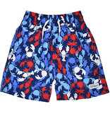 Flap Happy Crawfish Beach Party UPF 50+ Wesley Swim Trunks With Mesh Liner