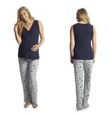 Everly Grey Everly Grey Analise 5-Piece Mom & Newborn Baby PJ Set - Twinkle Night