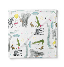 Nola Tawk They All Asked for You Organic Muslin Swaddle Blanket