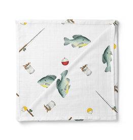 Nola Tawk Catch You Later Organic Muslin Swaddle Blanket