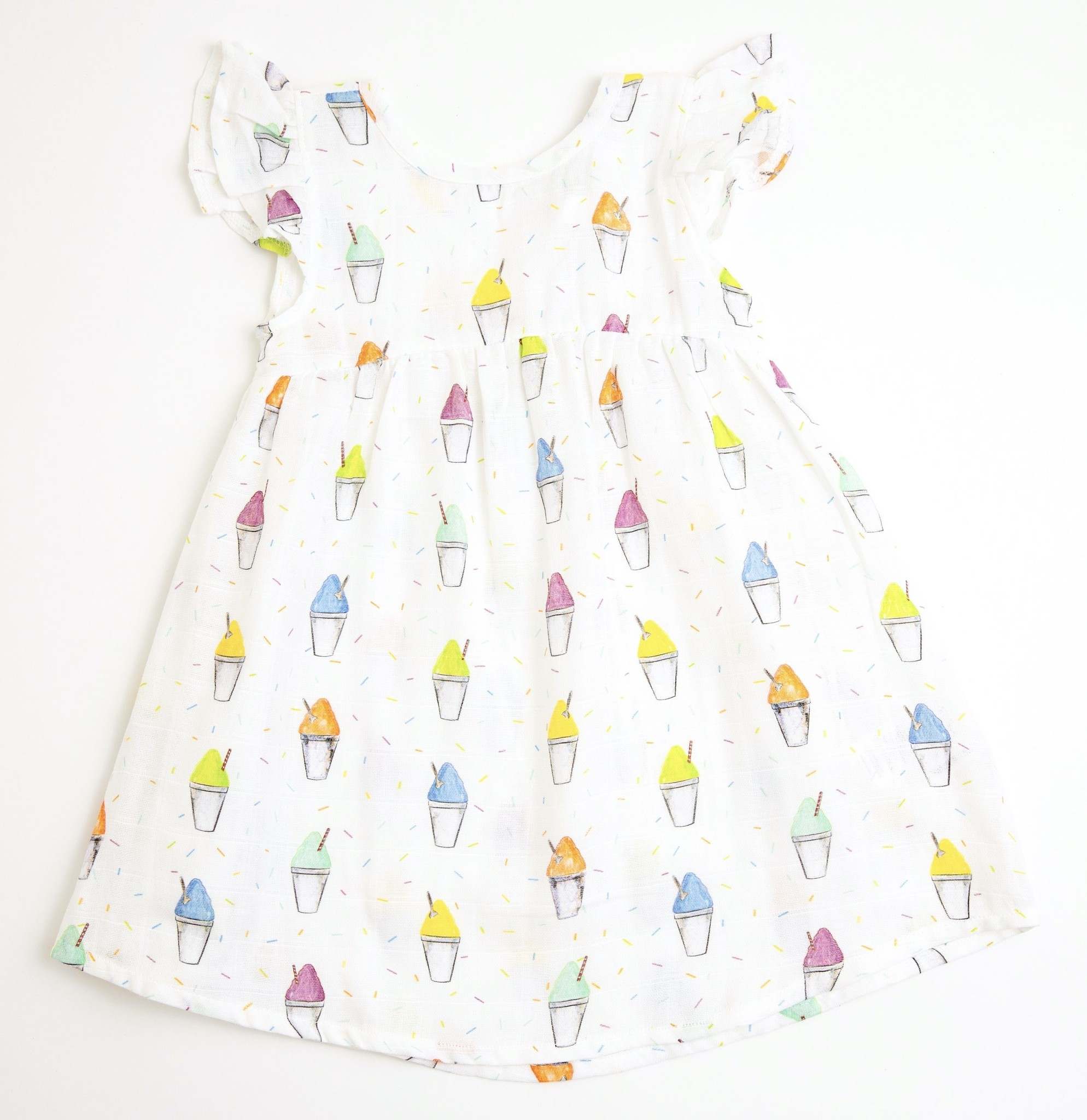 Nola Tawk Snoball Organic Muslin Dress