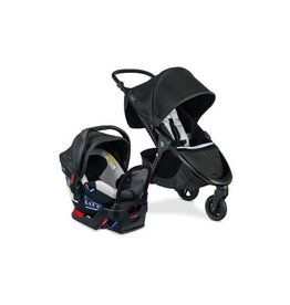 Britax Britax B-Free Stroller Travel System with B-Safe Gen2 Flex Fit + Infant Seat