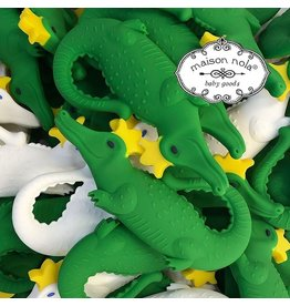 Maison Nola Alligator Silicone Teether