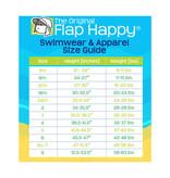 Flap Happy Crabby Crawfish Stella Infant Ruffle Swimsuit  UPF 50+