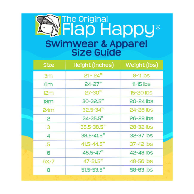 Flap Happy Daisy 2 Piece Tie Front Swimsuit  Crabby Crawfish UPF 50+
