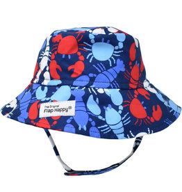 Flap Happy UPF 50+ Bucket Hat  Crawfish Party