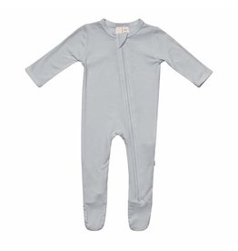 Kyte Baby Kyte Baby Bamboo Zippered Footie - Storm