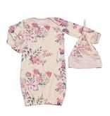 Everly Grey Everly Grey Analise 5-Piece Mom & Newborn Baby PJ Set - Wildflower