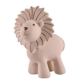 Tikiri Natural Rubber Teether, Rattle & Bath Toy - Lion
