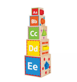 Hape Pyramid of Play Stacking Toy