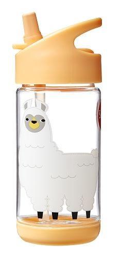 3 Sprouts Animal Flip Top Water Bottle (BPA-Free)
