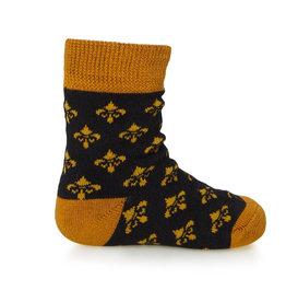 Bonfolk Bonfolk Buy One Give One Socks - Baby Black & Gold (0-12 mo)