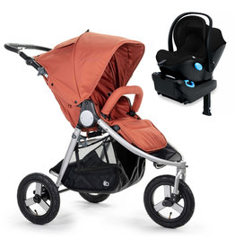 Bumbleride Bumbleride Indie Clay Stroller + Clek Liing Car Seat Travel System (with free adaptor)