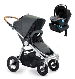 Bumbleride Bumbleride Era Dawn Grey Stroller + Clek Liing Car Seat Travel System (with free adaptor)
