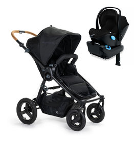 Bumbleride Bumbleride Era Matte Black  Stroller + Clek Liing Car Seat Travel System (with free adaptor)