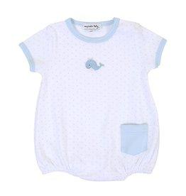 Magnolia Baby Tiny Whale Short Sleeve Bubble