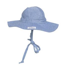 Flap Happy Chambray Floppy Hat UPF 50+