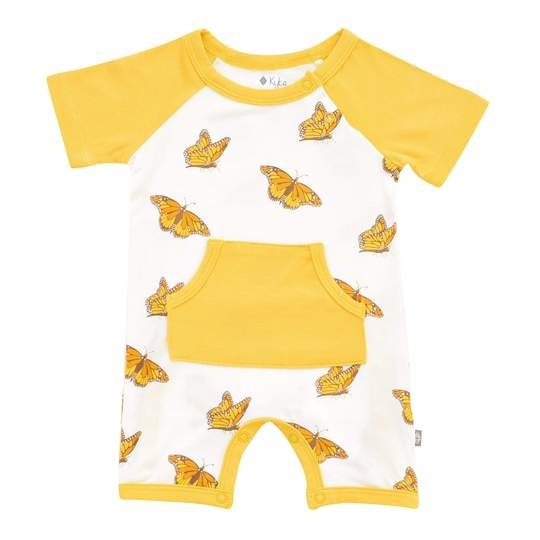 Kyte Baby Kyte Bamboo Short All in Monarch