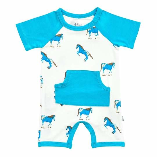 Kyte Baby Kyte Bamboo Short All in Horse