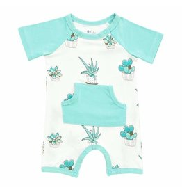 Kyte Baby Kyte Bamboo Short All in Succulent