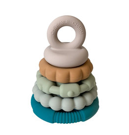 Chewable Charm River Silicone Teether Stacker Toy