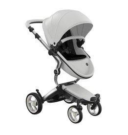 Mima Mima Xari 4G Complete Stroller with Car Seat Adapters - Aluminum