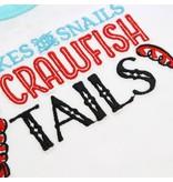 Little Hometown Crawfish Tails Onesie (3-6 mo)