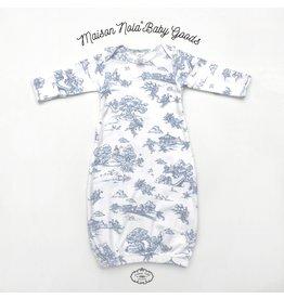 Maison Nola Maison Nola Storyland Toile Gown Blue