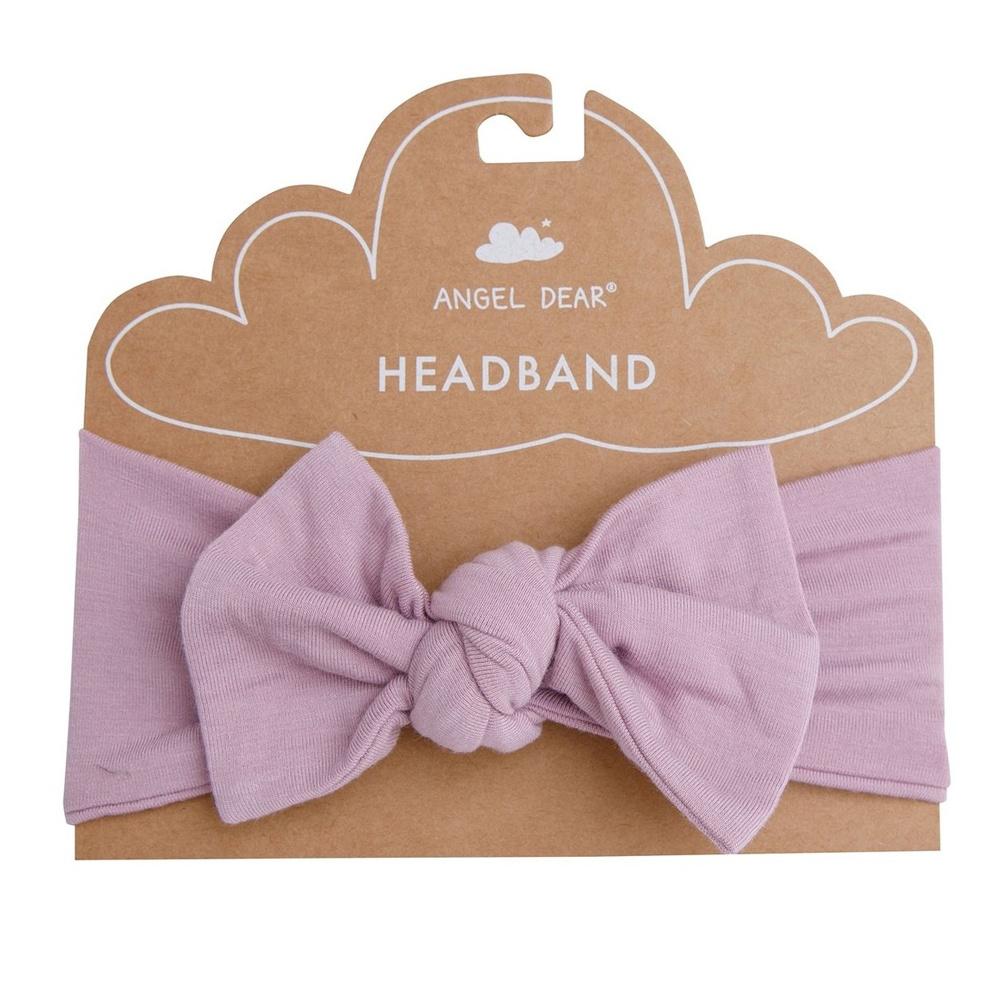 Angel Dear Modern Basics Lilac Bamboo Stretchy Headband