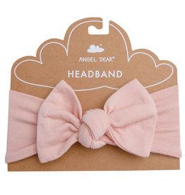 Angel Dear Modern Basics Dust Pale Pink Bamboo Stretchy Headband