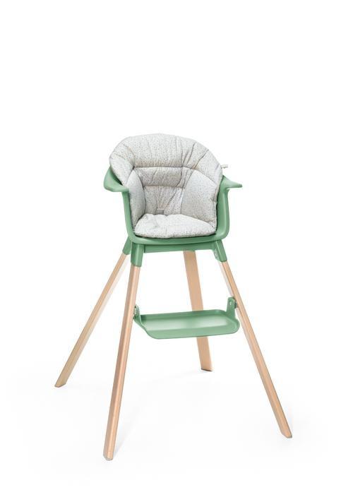 Stokke Stokke Clikk High Chair Cushion Grey Sprinkles - no box (floor model)