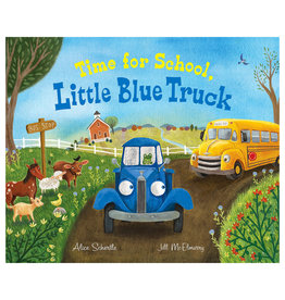 Books Time for School, Little Blue Truck Book