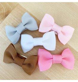 Baby Wisp Snap Clip 5 Piece Set - Charlotte Pink Pony