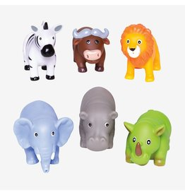 Elegant Baby Jungle Party Squirtie Baby Bath Toys
