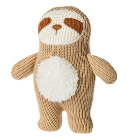 Mary Meyer Knitted Nursery Sloth Rattle
