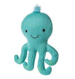 Mary Meyer Knitted Nursery Octopus Rattle