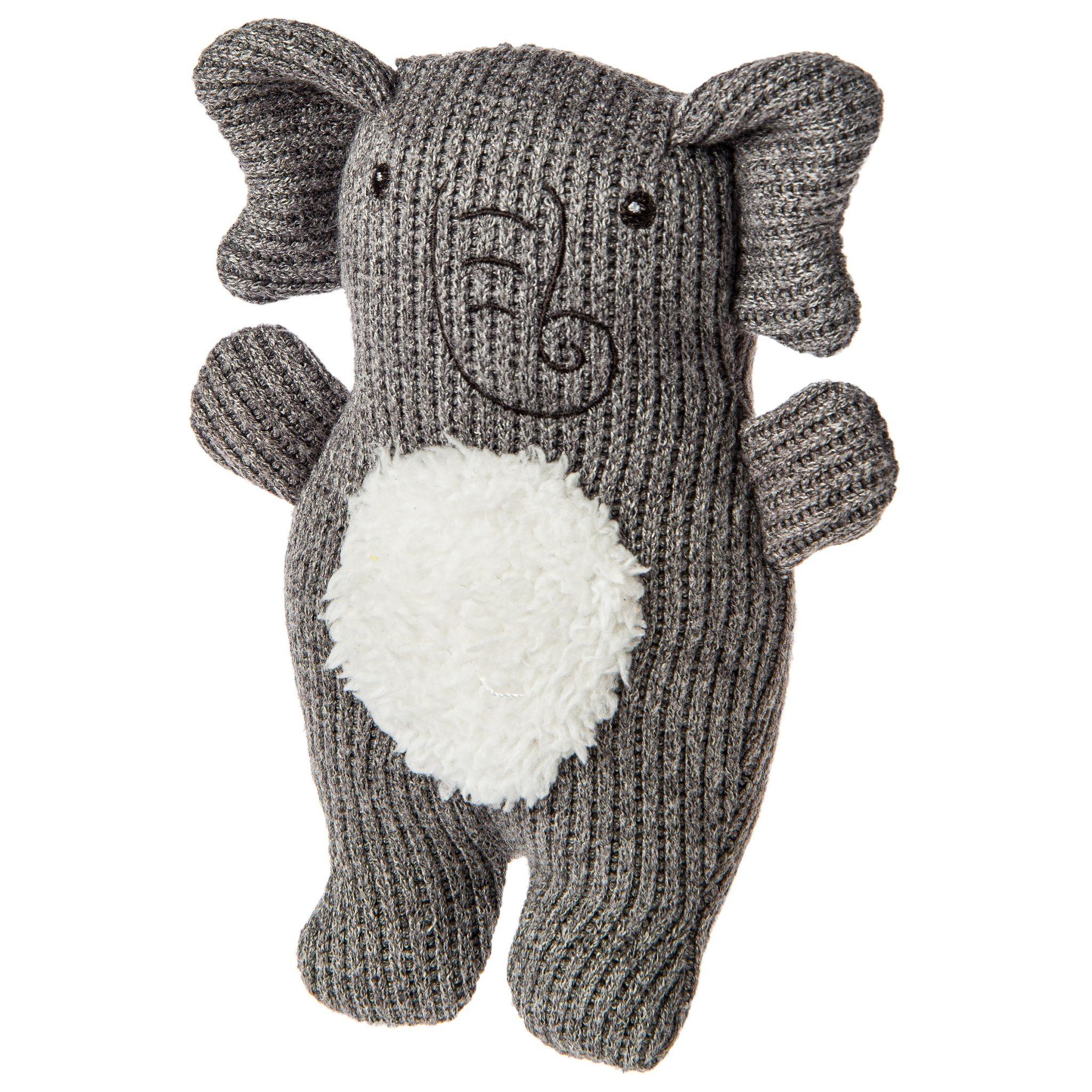 Mary Meyer Knitted Nursery Elephant Rattle