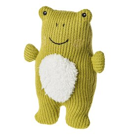 Mary Meyer Knitted Nursery Frog Rattle