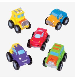 Elegant Baby Monster Truck Party Squirtie Baby Bath Toys