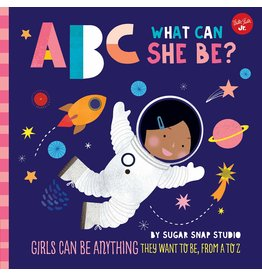 Books ABC What Can She Be Book