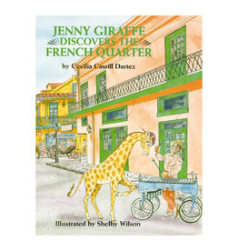 Books Jenny Giraffe Discovers the French Quarter Book