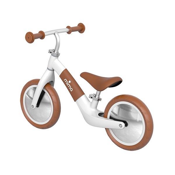 Mima mima Zoom Balance Bike - white/camel
