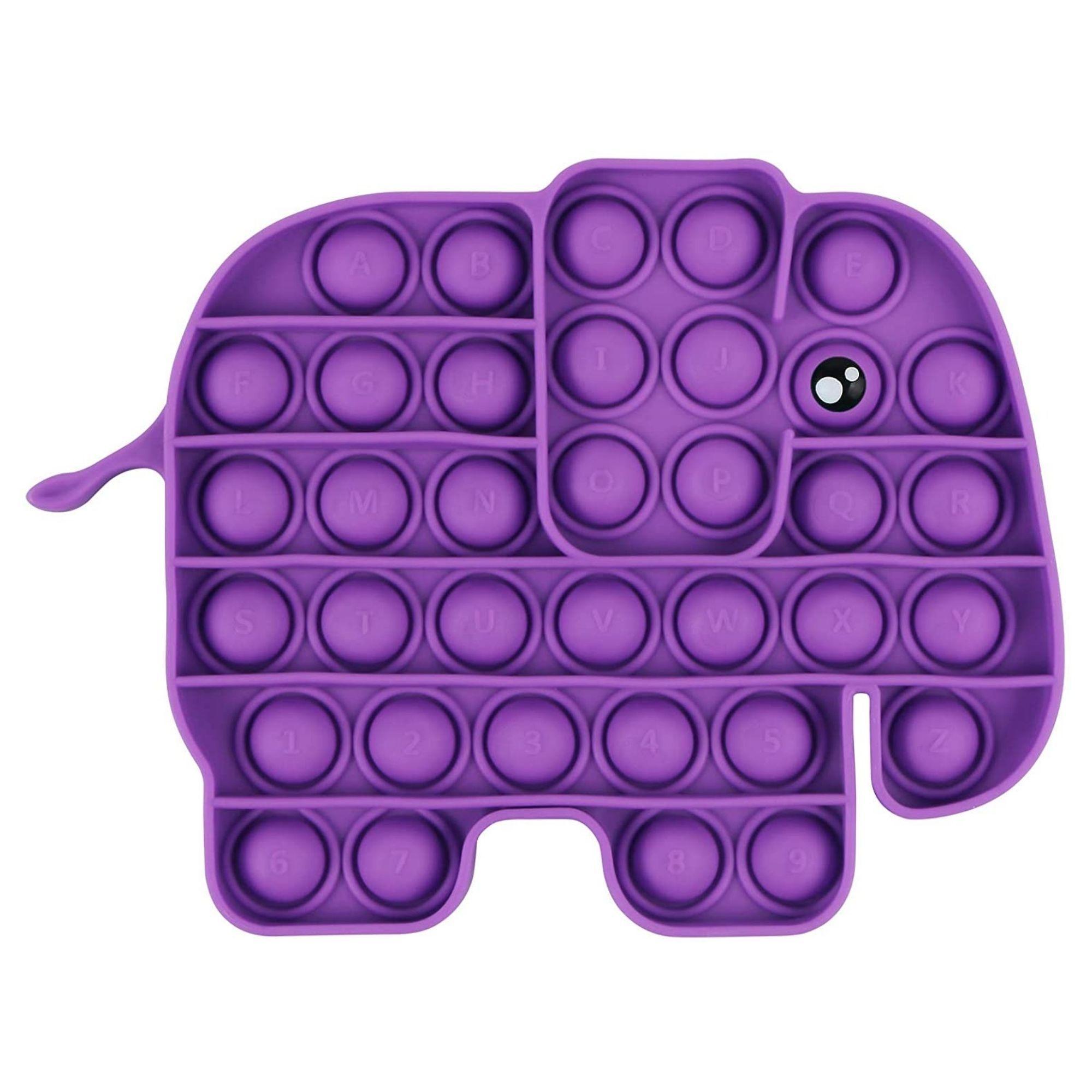 Streamline Poptastic Silicone Fidget Popper Toy - Elephant