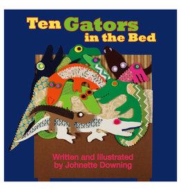 Books Ten Gators in The Bed Book