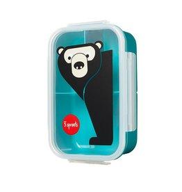 3 Sprouts Animal Bento Box (BPA Free / Microwave-Safe)