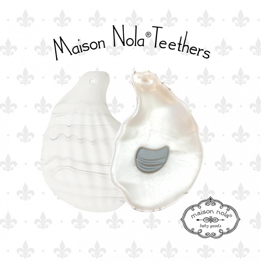Maison Nola Oyster Silicone Teether