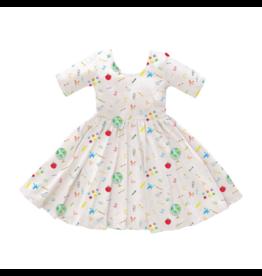 Nola Tawk School Days Organic Cotton Twirl Dress