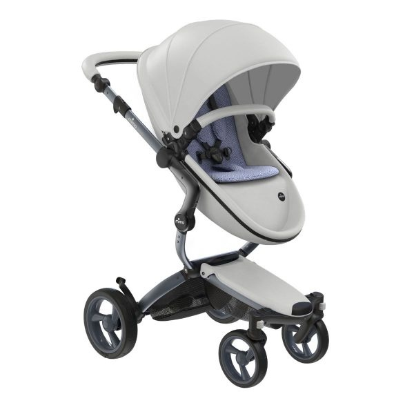 Mima Mima Xari 4G Complete Stroller with Car Seat Adapters - Graphite
