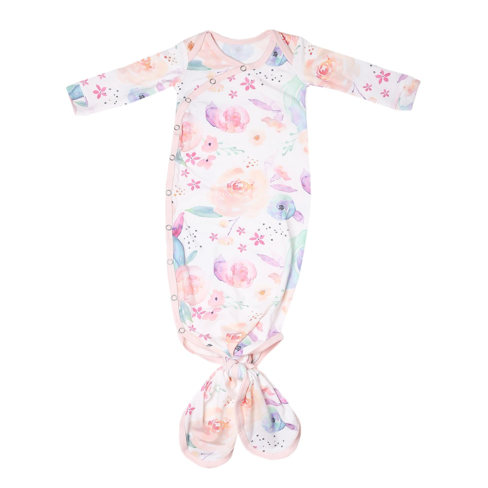 Copper Pearl Copper Pearl Knotted Gown (0-4M) -