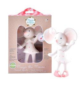 Tikiri Meiya the Mouse Soft Squeaker Teething Toy Lovey